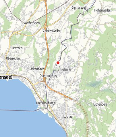 Karte / Waldschenke Hangnach