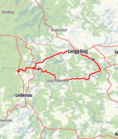 """Mapa / Große Schmetterlingsrunde (mit """"Kampursprung"""")"""