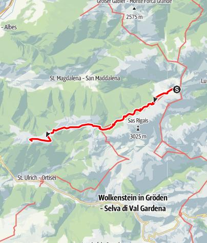 Mapa / Dolorama 3. Etappe