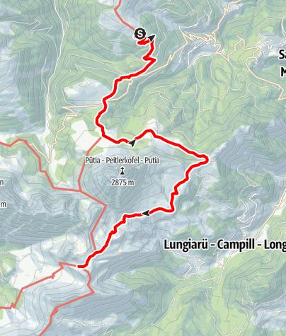Mapa / Dolorama 2. Etappe