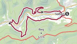Karte / Rundtour über Langenei