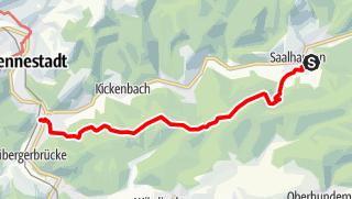 Map / Kirchbergweg nach Altenhundem
