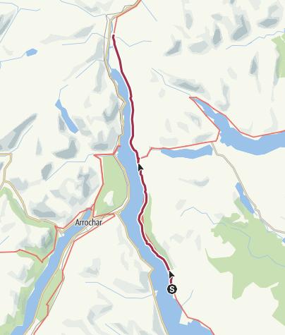Map / Rowardennan to Inverarnan Digital Delivery