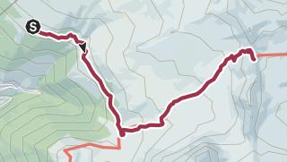 Map / St-Luc, Chandolin et environs : Col du Meiden n°21