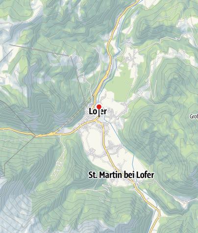 Karte / Einstiegsstelle Hubertussteg