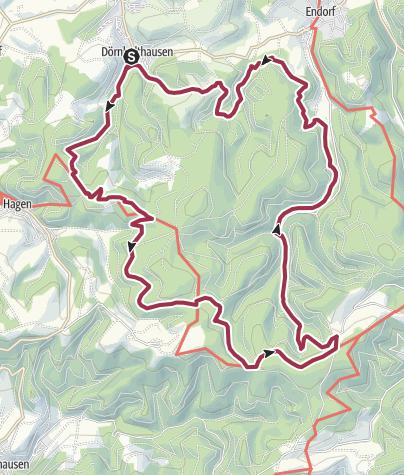 Karte / Große Homertrunde in Stockum-Dörnholthausen