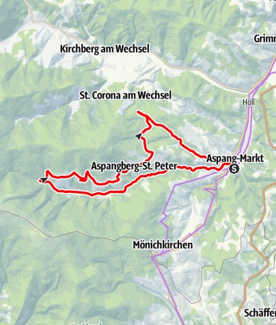 Térkép / Wechsel-Route E-Bike