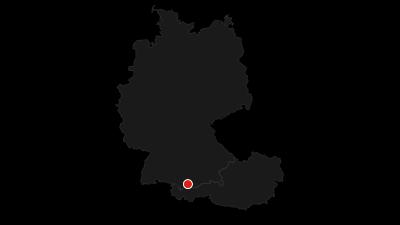 Karte / 01. Radrunde Allgäu - Die Runde in die schönsten Ecken.