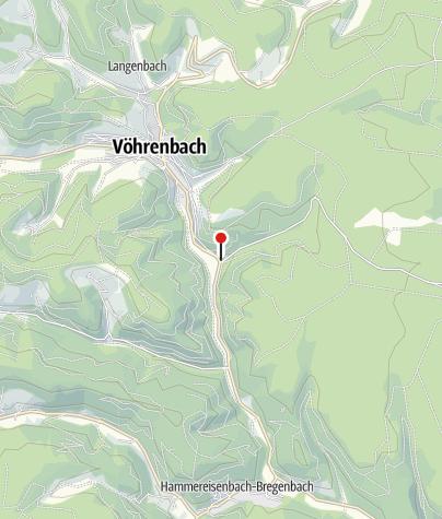 Karte / Landgasthof Waldrast, Vöhrenbach
