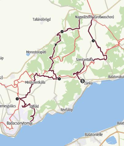 Térkép / Fjällräven Vándortúra 2019