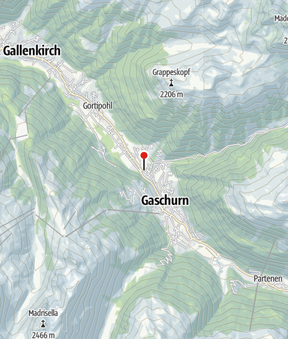 Karte / Premium Alpenchalets Montafon