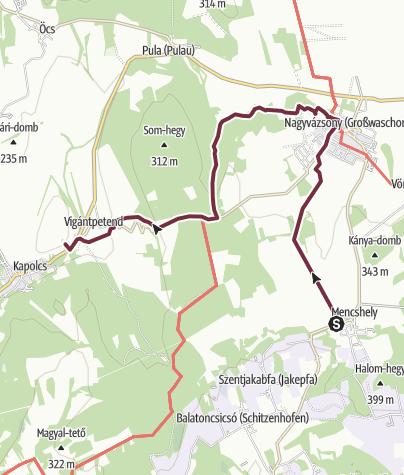 Map / Fjällräven Vándortúra 2019 - 2. nap, rövid táv