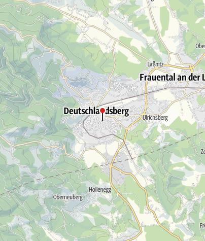 Karte / Café-Pub 's Gwölb