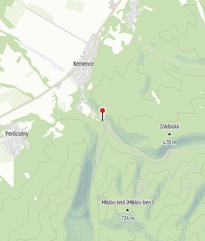 Térkép / Kemencei Erdei Múzeumvasút (Godóvár állomás)