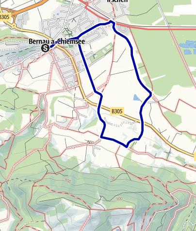 Karte / Filzenweg