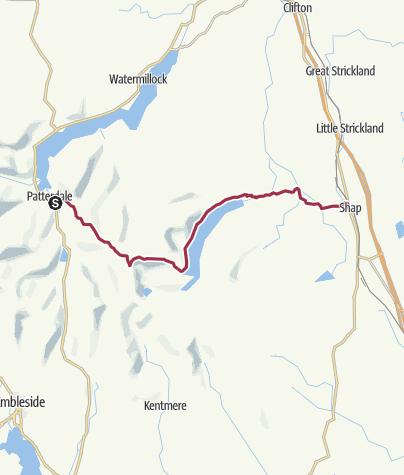 Map / Wanderung nach Shap