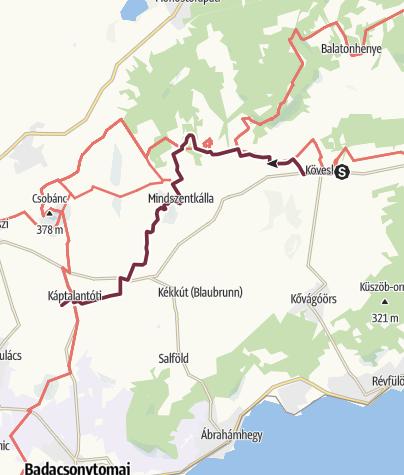 Mapa / Fjällräven Vándortúra 2019 - 4. nap, rövid táv