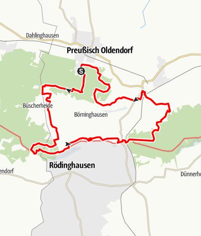 Karte / Limberg-Nonnenstein-Weg