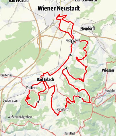 Map / Rosalia Rundwanderweg