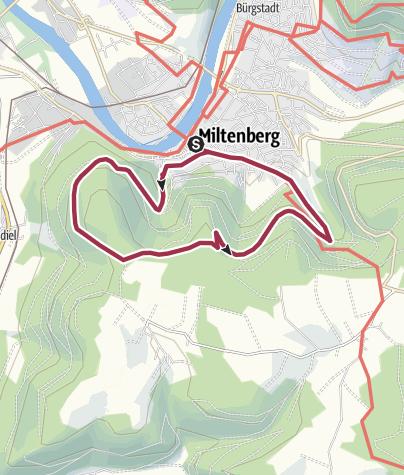 Karte / Greinberg-Weg M3