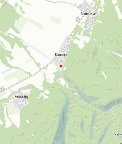 Térkép / Kemencei Erdei Múzeumvasút (Csarnapuszta megállóhely)