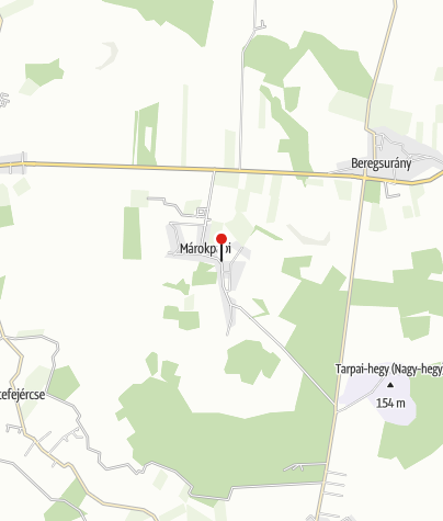 Mapa / Márokpapi, református templom