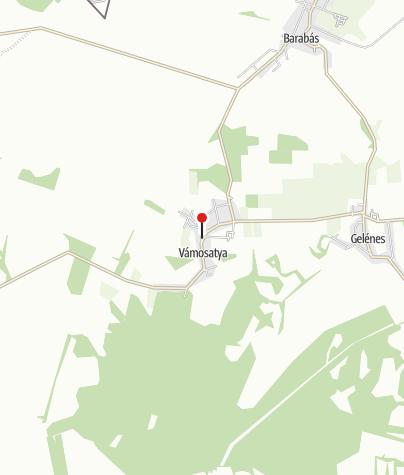 Térkép / Vámosatya, református templom