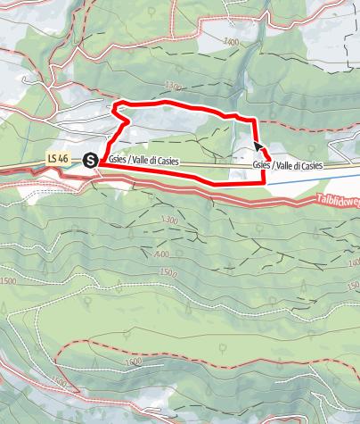 Mapa / Rundweg zu Adlitzhausen