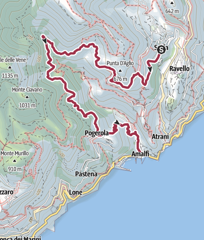 Map / Scala and the Nature Reserve of Valle Delle Ferriere