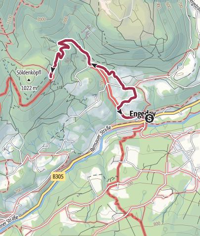 Karte / Söldenköpfl von Engedey