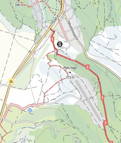 Térkép / Decathlon Mátra túra - Törptúra