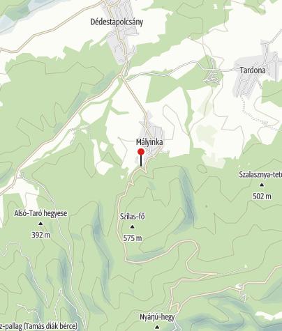Map / Begyeleg-kilátó (Mályinka)