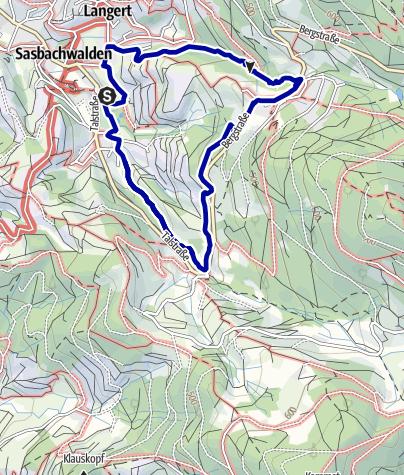 Karte / Gaishöll-Wasserfälle - Die Augenblick Runde