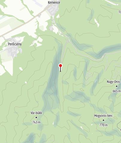 Térkép / Kemencei Erdei Múzeumvasút (Feketevölgy állomás)