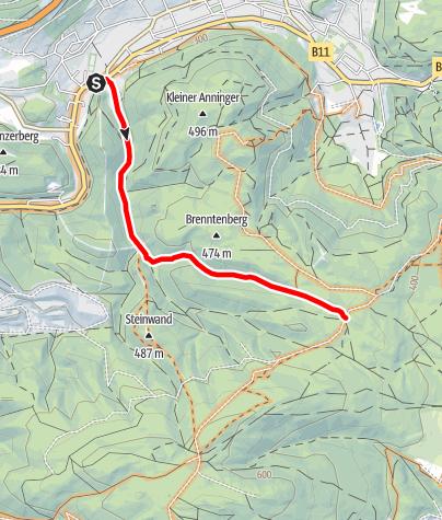 Map / Kiental - Route