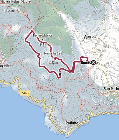 Map / Mount Tre Calli