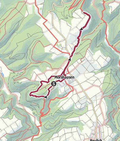 Karte / Murscher Aussichten + Ehrenburgblick