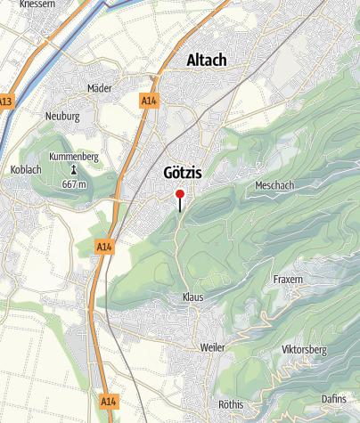 Kaart / Götzis, Ruine Neu-Montfort
