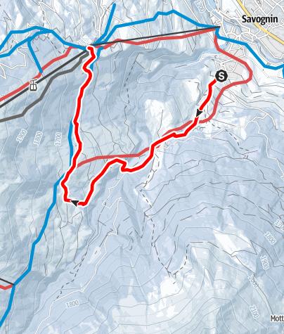 Karte / Die Schneemeertour