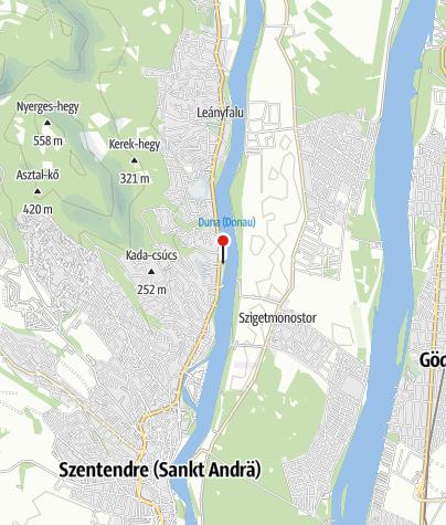 Térkép / Duna-parti Apartmanház