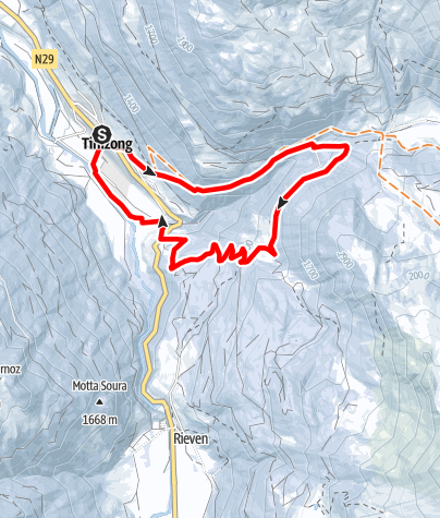 Karte / Pensa Route