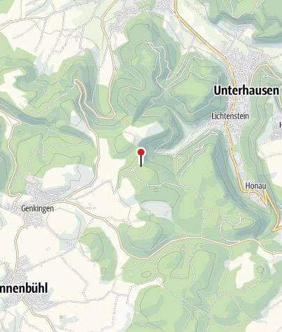 Karte / Grillplatz am Nebelhöhlen-Parkplatz