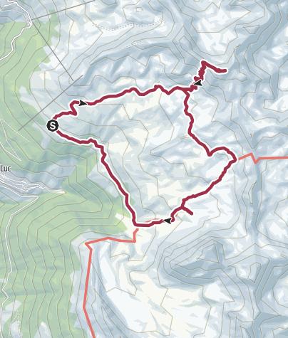 Map / Drei-Seen-Wanderung