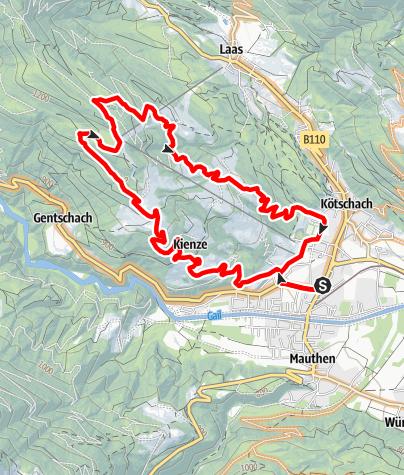 Karte / KM3 - Vorhegg-Ödenhütte