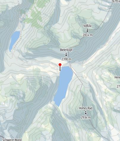 Karte / Kletterpark Silvrettasee