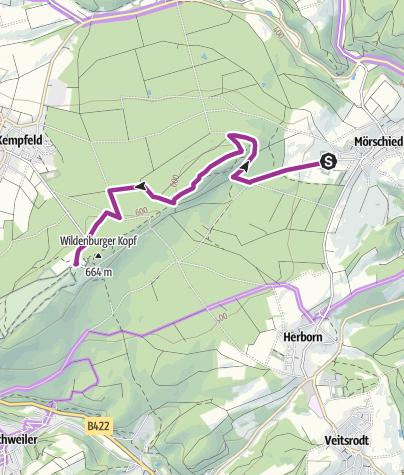 Karte / Nationalpark-Radquerungen 3