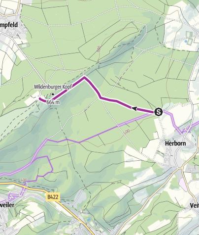 Karte / Nationalpark-Radquerung 4