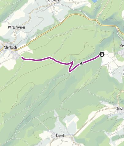 Karte / Nationalpark-Radquerung 5