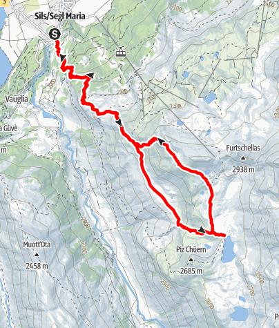 Map / Furtschellas