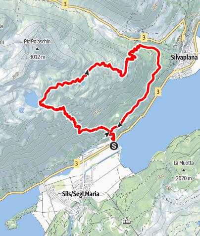 Map / Lej da la Tscheppa